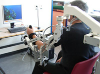 Ergothérapie Travail motricité et sensibilité membre supérieur par machines robotiques