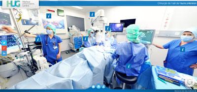 Visite virtuelle de notre salle d'opération
