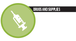 chiffres - drugs and supplies