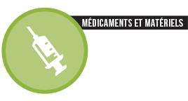chiffres - médicaments et matériels