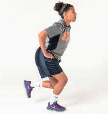 Flexion sur une jambe