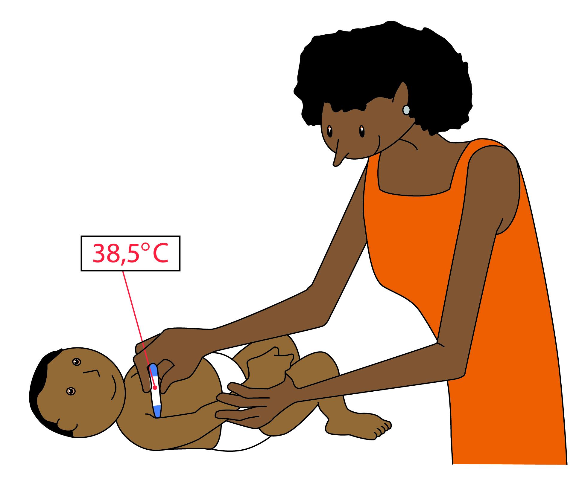 Prendre la température de votre enfant