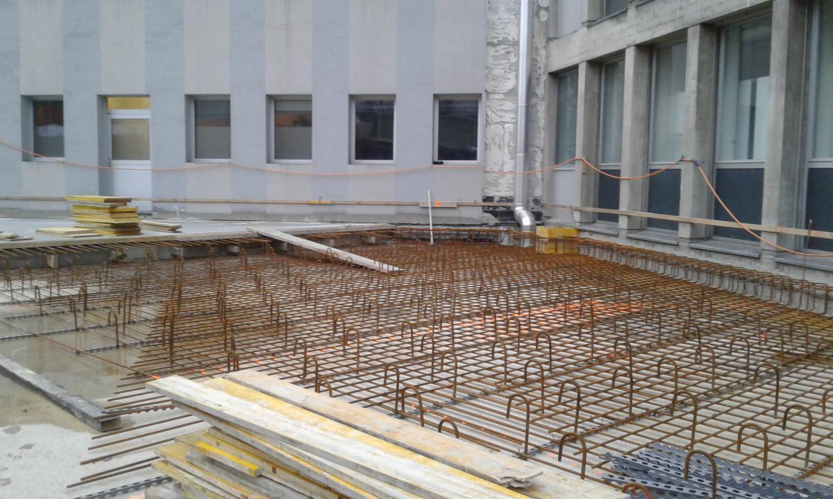 Création du bâtiment