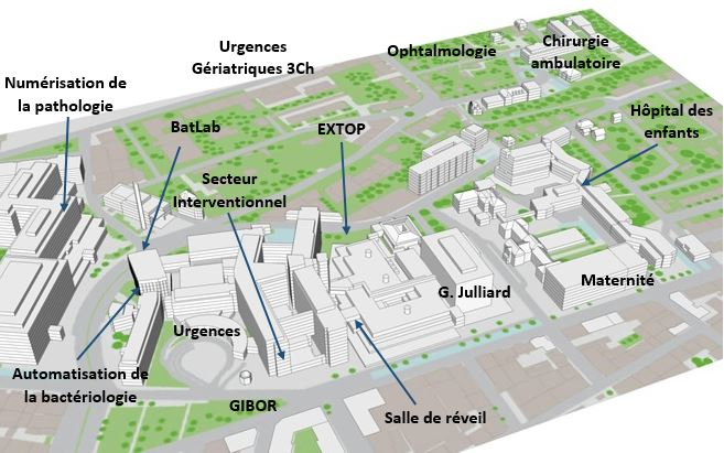 L'Hôpital, bâtiment principal (D)