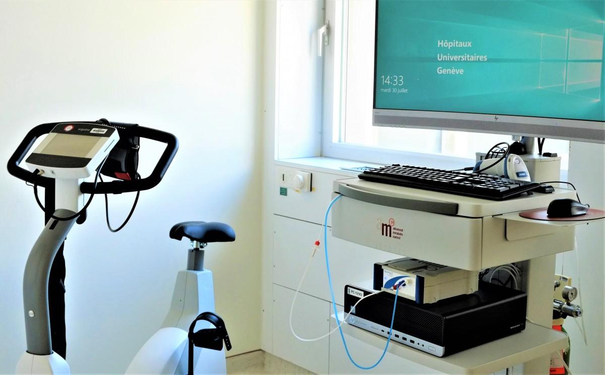 Equipements du Laboratoire de physiologie respiratoire