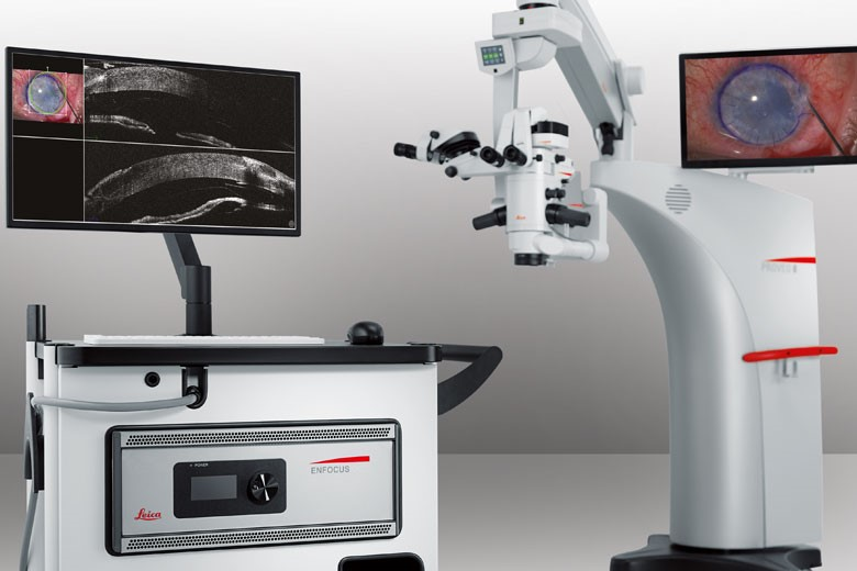microscope de chirurgie ophtalmologique