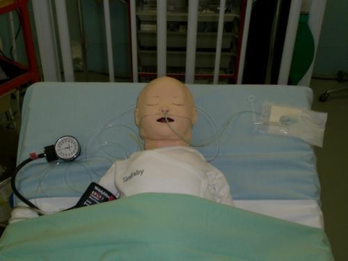 Photos de la journée de formation des Soins Intensifs de Pédiatrie