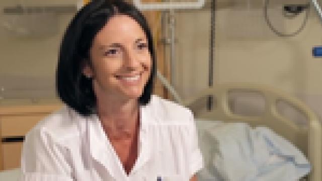Delphine Cusin  Aide soignante au service des urgences
