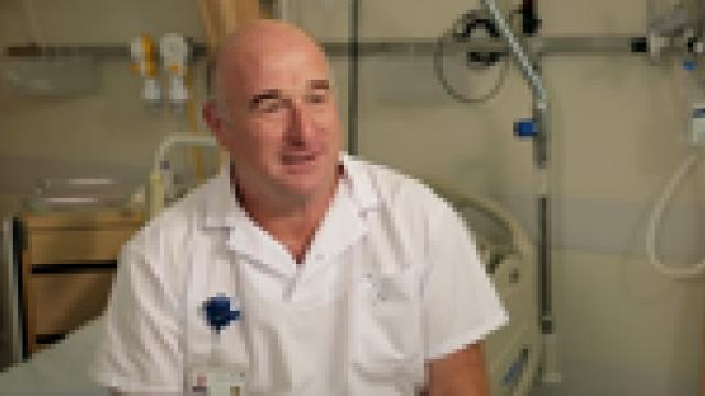 Gilles Fol aide-soignant en chirurgie orthopédique