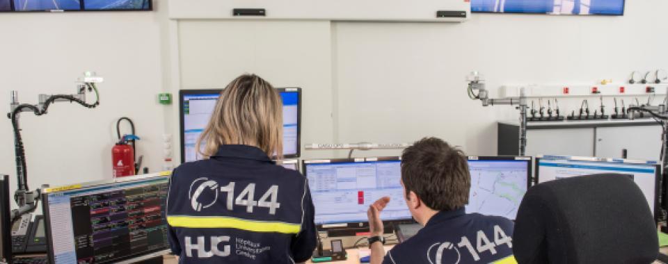 Nouvelle centrale Urgences santé 144 - HUG