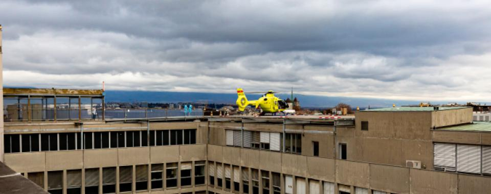 Premier∙es patient∙es hospitalisé∙es aux HUG transféré∙es en Suisse alémanique - HUG