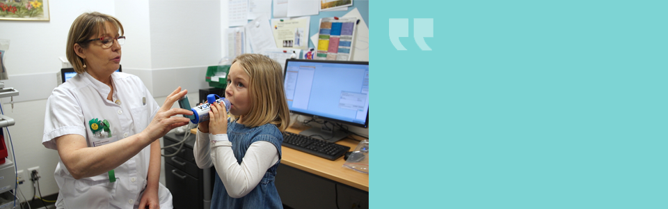 Le traitement de l'asthme chez l'enfant : apprendre à vivre avec