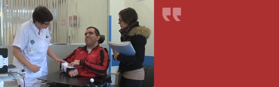 Handicap et soins. Une approche personnalisée à Genève aux HUG