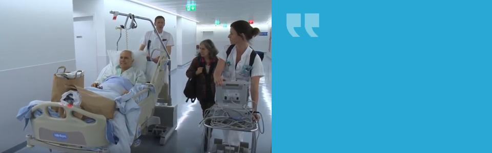Nouvel hôpital des HUG : l'accueil des premiers patients
